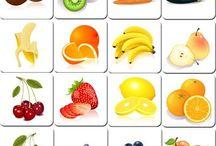hedelmät ja marjat