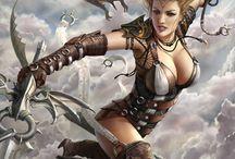 epic fantasy art