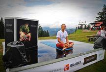 II Górski Maraton Jogi w Wierchomli / 30-31 sierpnia 2014 wspólnie powitaliśmy słońce na szczycie góry! 2 dni warsztatów, sesje tematyczne, eksperci z zagranicy i Polski oraz widowiskowy maraton w górach - to wszystko w Wierchomli. Dziękujemy wszystkim uczestnikom i współorganizatorom!!