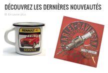 Nouveautés Fou du Volant / Découvrez nos nouveautés : Harley Davidson, Renault 4L, Vélo Solex ...n