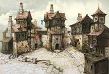 Medieval Concept Art