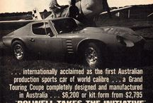 Australian Automobile Brands, Misc. Car Ads / Automobile advertising from misc. Australian manufacturers.