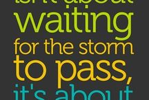 Quotes / Life quote, wall decal ideas