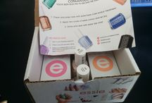 #essienailedit / I received these complimentary Essie products for testing purposes from Influenster's Essie Voxbox campaign.