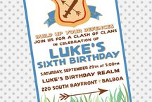 Clash of Clans Bday Party