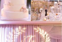 Wedding: White, pink, gold, & black Receptions