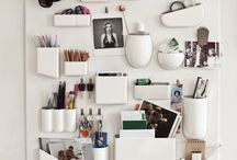 Home Office Inspiration / Ideas for creating the perfect mini office at home
