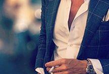 Awesome blazer / Blazer shirt lines