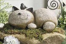 piedras decoradas Manualidades