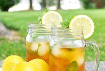 Drinks -- lemon tea