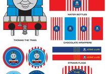 Thomas theme party