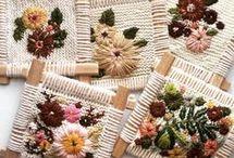 ковровая вышивка
