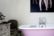 Dreamy bathrooms... / Pinings for a luxurious bathroom.... leanings towards french-provincial meets bohemian-funk...