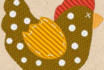 FREE Chicken Scratch  / FREE Chicken Scratch Embroidery Design Collection from CinDes Embroidery http://cindysembroiderydesigns.com/Free-Chicken-Scratch.html