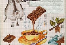 chocolate cross stitch