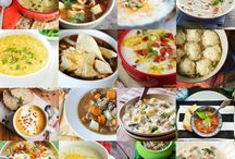 Soups - Comfort Food / The ultimate comfort food - A bowl of steaming soup