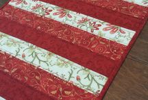 Quilting - Christmas Table Runners