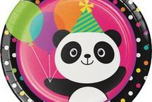 Panda Theme Birthday Party Decorations and Ideas / Throw an amazing party for your Wildlife Panda lover!  We have put together a collection of our favorite Panda Party Decorations and other awesome ideas. Here are some great Panda party Pins and a collection of our most popular Pink Panda Party Supplies, which can also be found at http://www.ezpartyzone.com/cat-panda-party-supplies.cfm