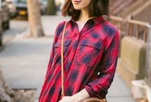 How to style: Plaid / by Jessica