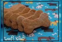 *homemade dog treat