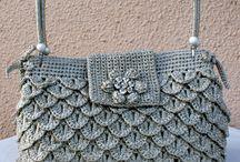 Crochet  & knitted bags