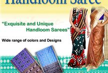 Handloom Sarees & Dress Materials / We at Ritikart bring the rare handpicked Handloom Sarees and Dress Materials and showcased them on our online store http://www.ritikart.com. Kindly visit our site to order them online. This board is created just to showcase our wide range of products which we are dealing.