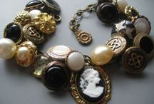 Button jewelry ideas / by Dina Darling-Clark