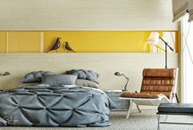 minimalist style interior for hotel room / hotel room
