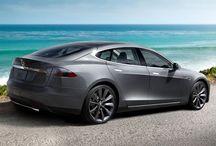 Tesla S titanium