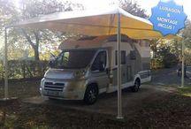 Abris camping car  / En bois, en métal, ou en PVC, les abris de camping-car sont de bonnes solutions car il est souvent difficile de protéger sa caravane ou son camping-car. Ils sont solides, pratiques, et assurent une protection optimale à vos biens.