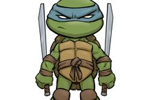 TMNT...dude ;) / I would love to live with these guys, come on, chill and eat some pizza and then you'll understand, ninja practice included! / by Zoe' Burns
