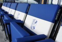 SPORTS / Sit & Heat is an energy efficient stadium heating which is built in stadium seats.