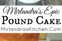 RECIPES:  Cake (pound)