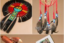 Indiánské výtvory