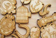 crafty wooden jewelry