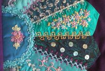 Crazy Quilting and Embroidery / Great samples of embroidery and crazy quilting