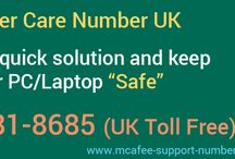 McAfee Technical Support UK / Get access to most reliable and fast assistance over all sort of major or minor issues from skilled technicians at McAfee Help Desk.