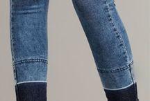 falda corta ajustada