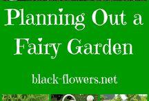 Belle fairy garden