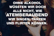 Alkohol macht alle froh
