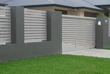 front fence colours / Colour options for fences - front and rear, and surrounding pools.