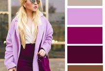 бордово-фиолетовое платье