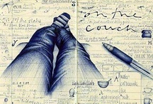 ART~Sketchbooks and Creative Journals / by Ginny Christensen