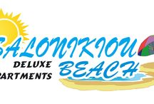 Logos / Salonikiou Beach Deluxe Apartments logos