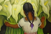 Art We Love: Diego Rivera /  Diego Rivera (December 8, 1886 – November 24, 1957) was a prominent Mexican painter and the husband of Frida Kahlo. His large wall works in fresco helped establish the Mexican Mural Movement in Mexican art. Between 1922 and 1953, Rivera painted murals among others in Mexico City, Chapingo, Cuernavaca, San Francisco, Detroit, and New York City. / by MOLAA