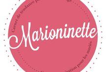 ♥ Marioninette ♥ / Venez visiter le bog : www.marioninette.com