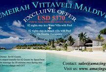 Maldives Special Offers 2014 / Maldives the Paradise on Earth. Check Out the Best deals and Amazing offers. Email us : sales@amazingasiatravels.com Visit Us: www.amazingasiatravels.com
