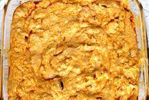 snacks /dips n crackers etc