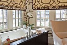 For the Bathroom / Window treatments aren't just for bedrooms and living spaces. Let us help you create something that works perfect for your bathroom. Visit www.russellscurtains.co.nz and book a free in home design consultation.