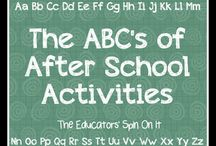 After School Adventures / by Lauren Hayes